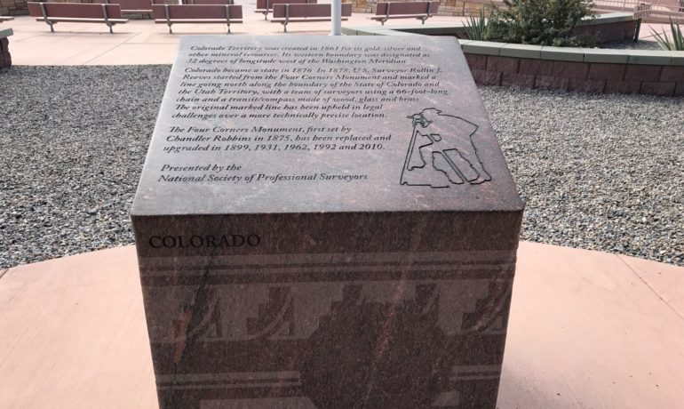 Four Corners Monument in New Mexico.